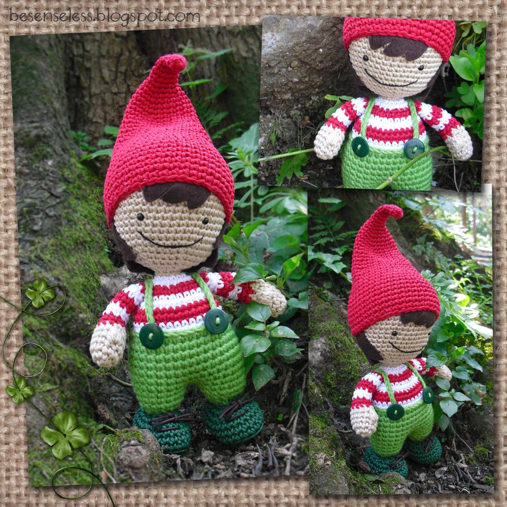 Gnomo amigurumi Amigurumi+gnome+elf+wood