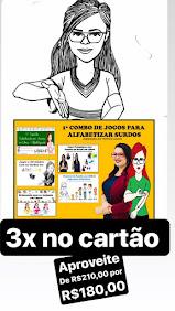 COMBO DE JOGOS PARA ALFABETIZAR SURDOS