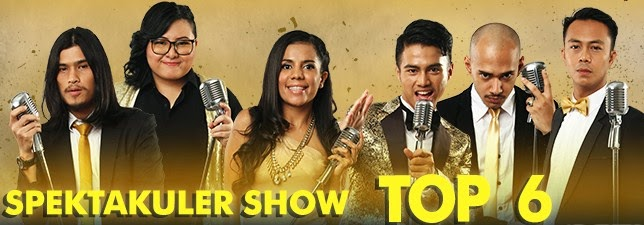 Lagu Indonesian Idol Spektakuler Show 11 April 2014 (TOP 6)