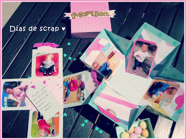 scrap,caja explosiva, exploding box, lulu ferris, taller, serendipity