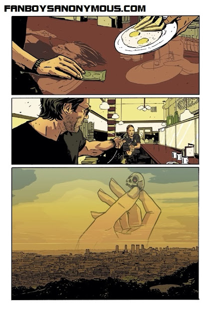 The Activity artist Mitch Gerads new Punisher penciller