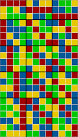 21x12 grid coloring - sorted solution 4