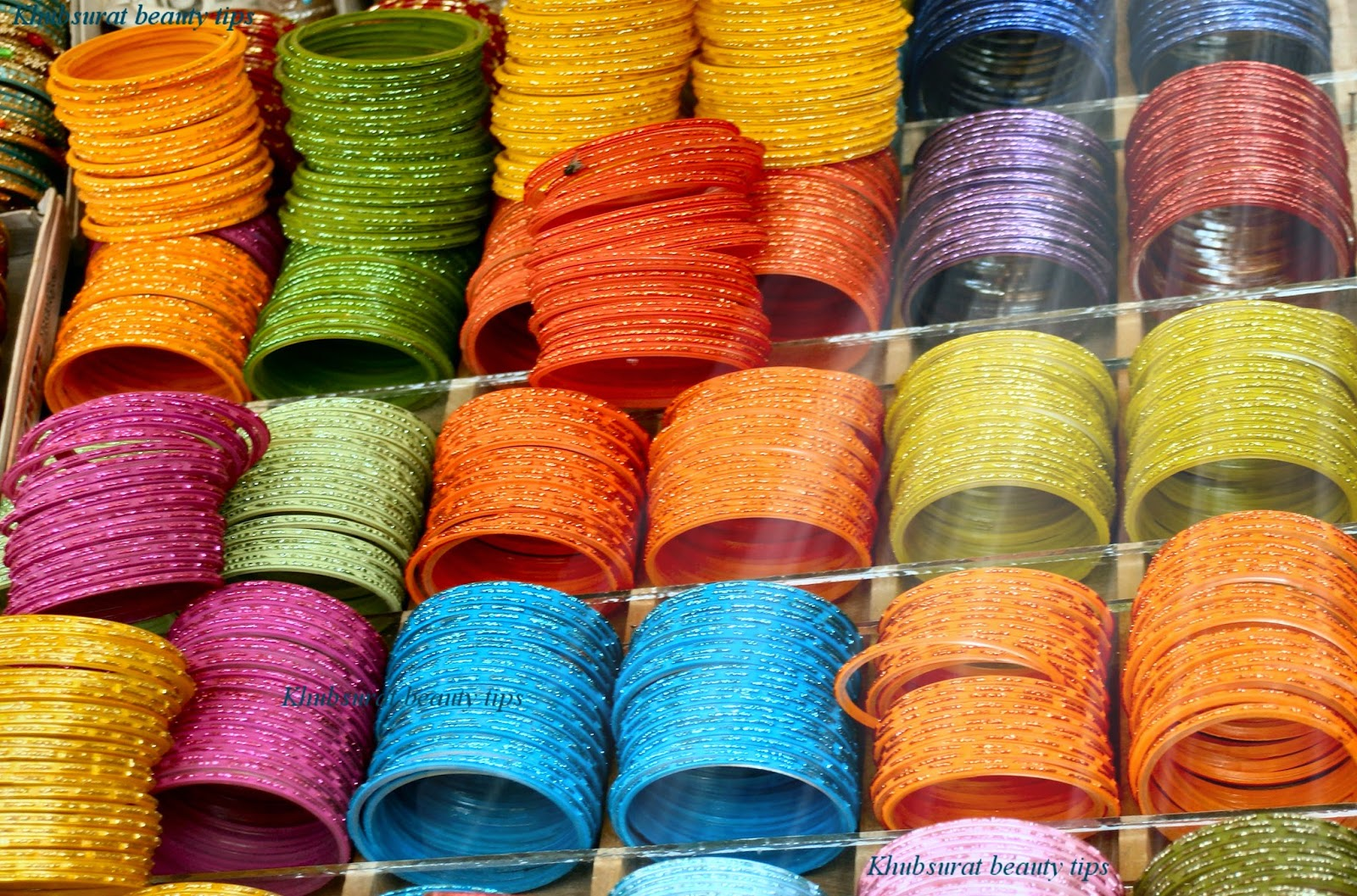 Colorful bangles for eid