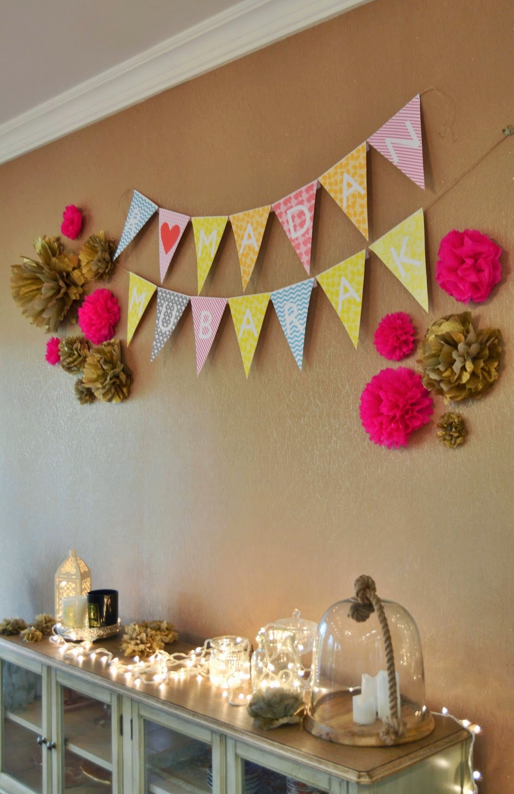 Melanie eman ramadan eid decor for Decorations for the home ideas