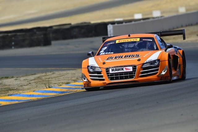 Pirelli World Challenge: Podium for Mike Skeen Audi in Sonoma race 1