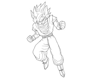 #3 Dragon Ball Coloring Page