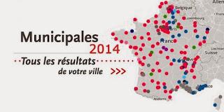 Carte Resultats Municipales 2014