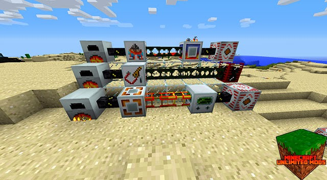 Build craft mod maquinaria