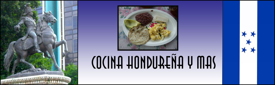 Cocina hondurea y mas