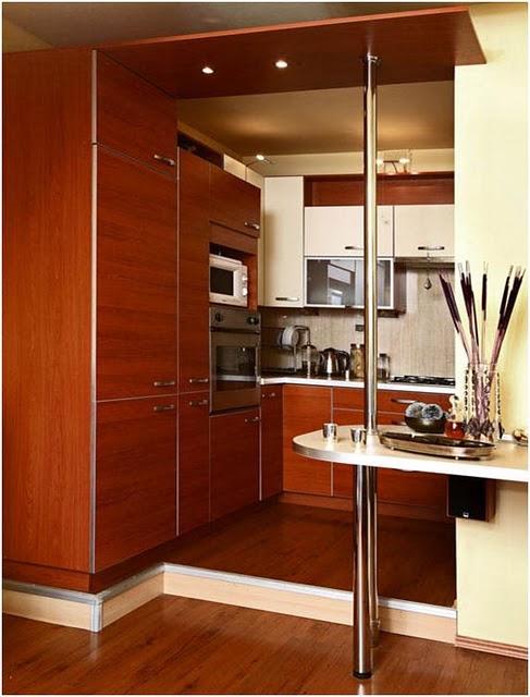 Fotos de cocinas peque as ideas para decorar dise ar y - Disenar una cocina pequena ...