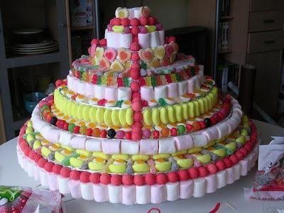 торт из конфет своими руками