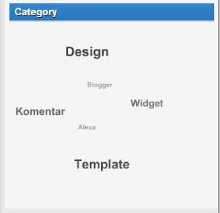 Cara Membuat Widget Label Dengan Efek Berputar