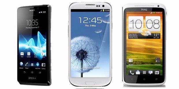 Membandingkan Xperia T, Galaxy S III, dan HTC One X
