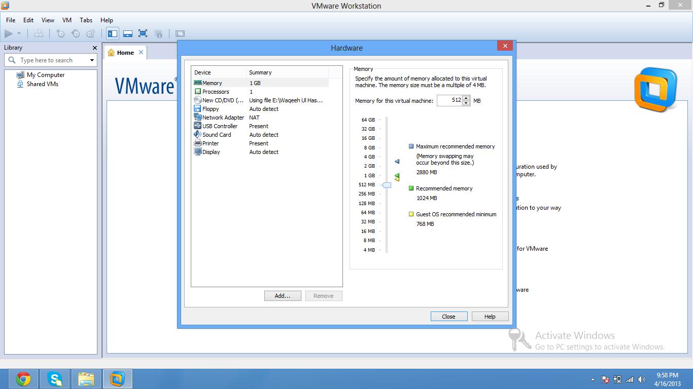virtualization software  By waqeeh ul hasan