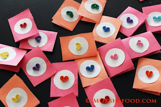 Quilled valentine cards