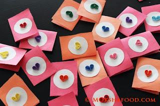 Quilled valentine cards