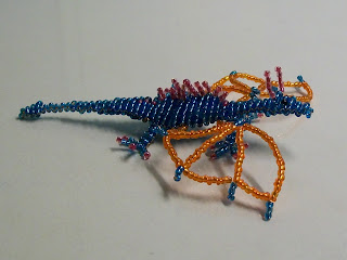 Beaded dragon