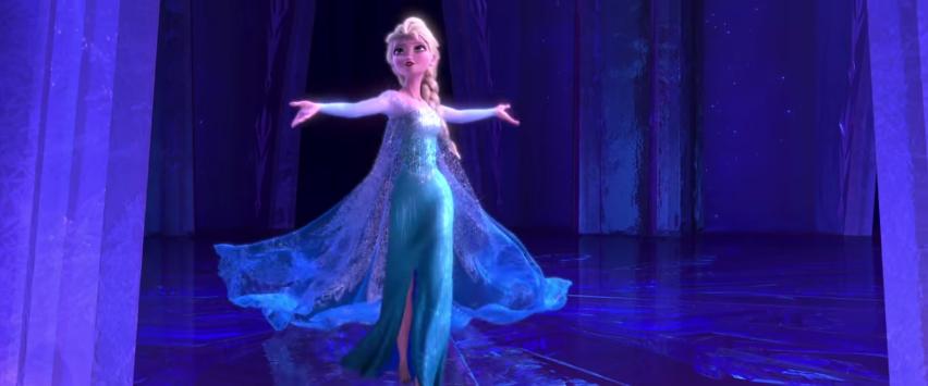 Pseudo mew elsa la reine des neiges est enfin libre - Elsa la reine des neige ...