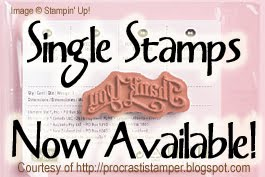 SINGLE STAMPIN' UP! STAMPS NOW AVAILABLE!