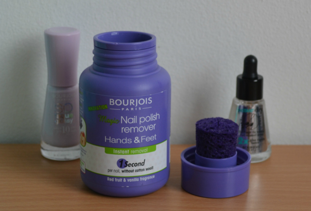 Bourjois magic nail polish remover for hands and feet