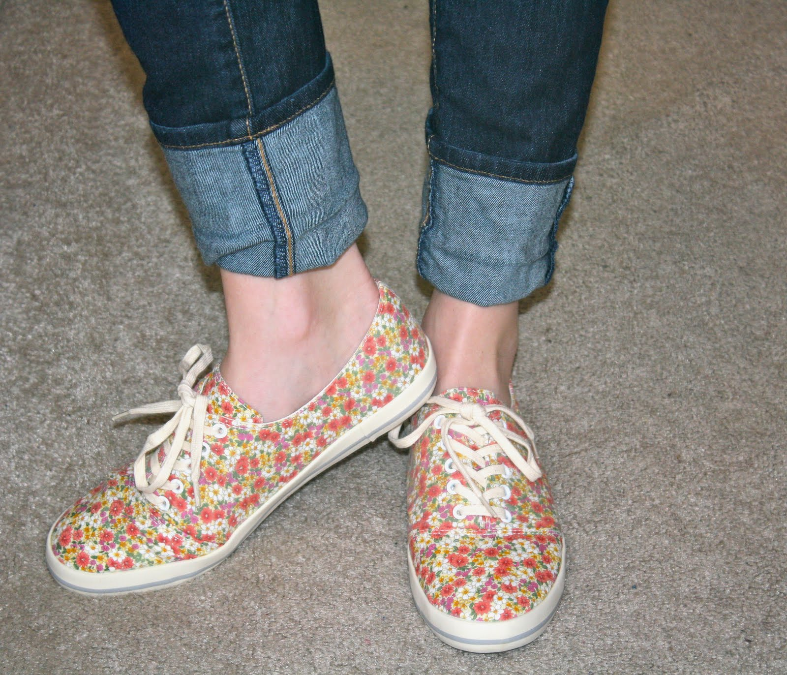 57 varieties the look for less floral print tennis shoes