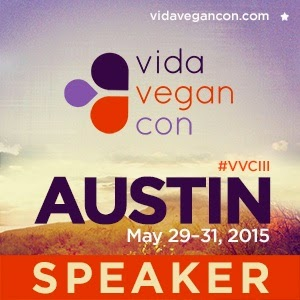 I'm speaking at Vida Vegan Con 2015!