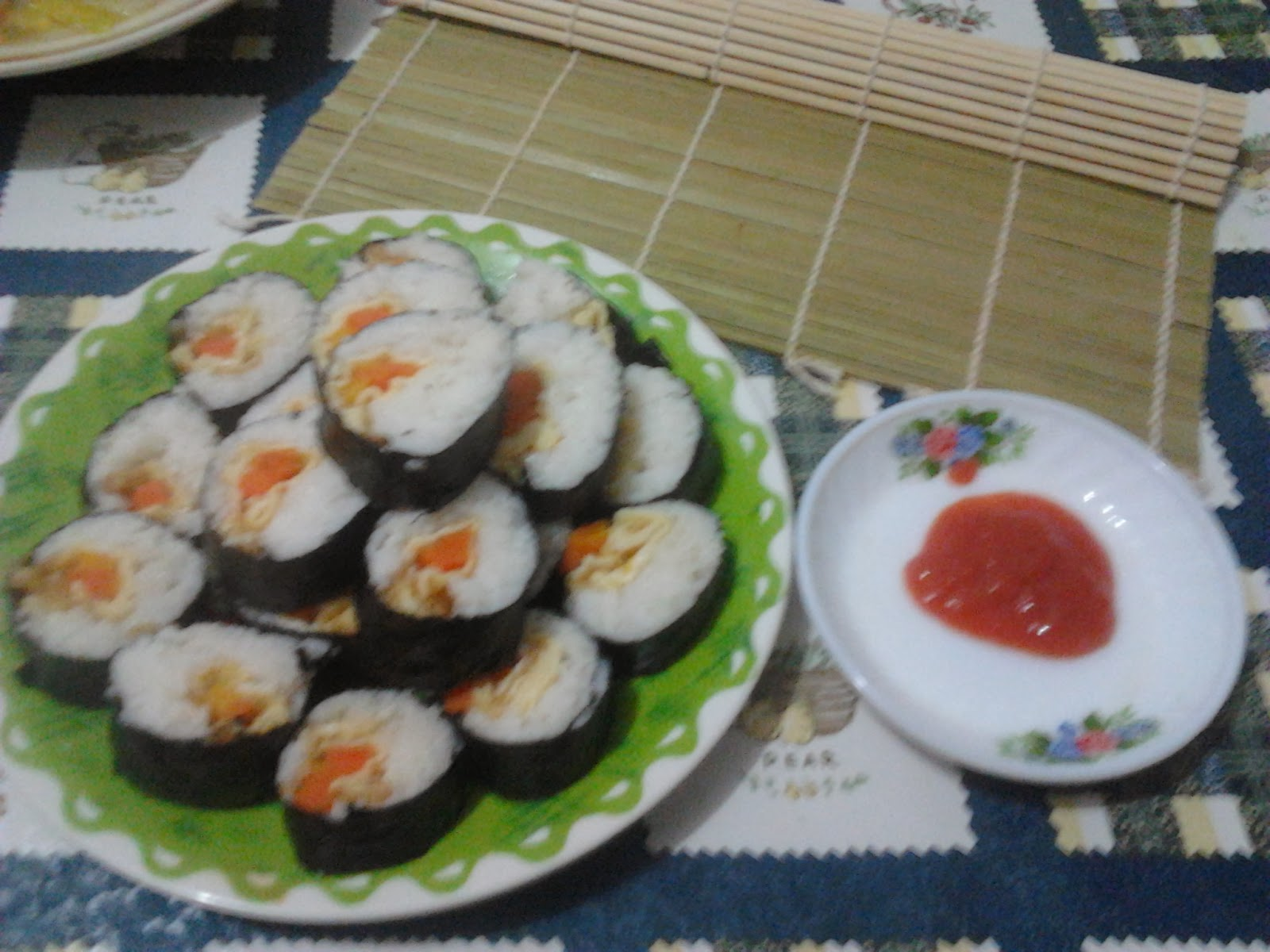 ヌルール 39 s blog sushi simple recipe by me