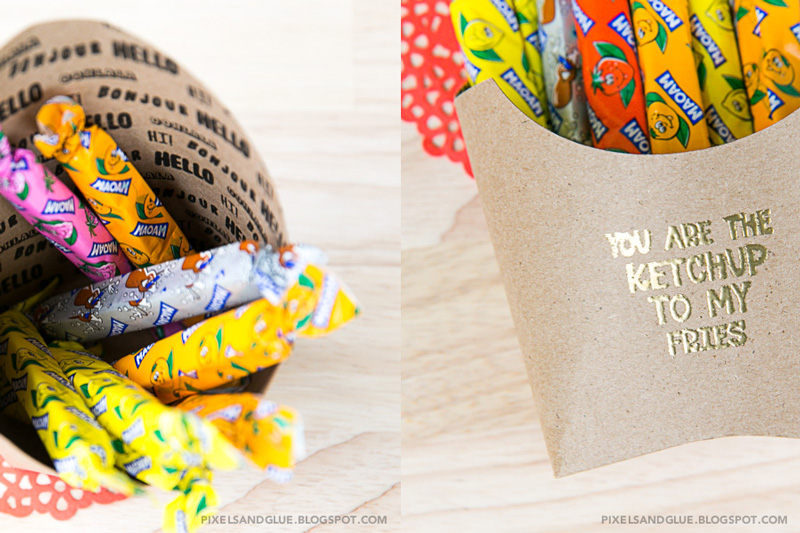 Sweet Treats | The Fry Box - tutorial by @pixnglue