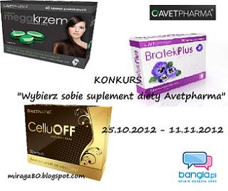 Wybierz sobie suplement Avetpharma