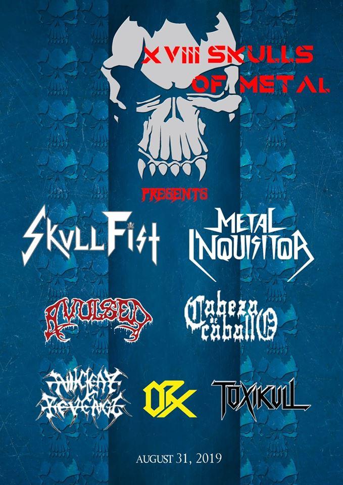 SKULLS OF METAL