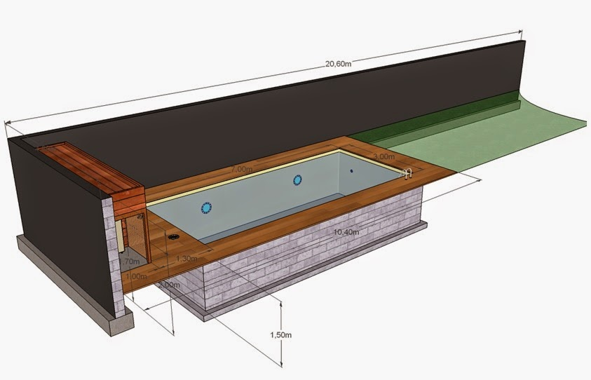Projet tapes de construction d 39 une piscine en for Construction piscine autorisation
