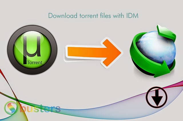 Download Torrent Files with Internet Download Manager