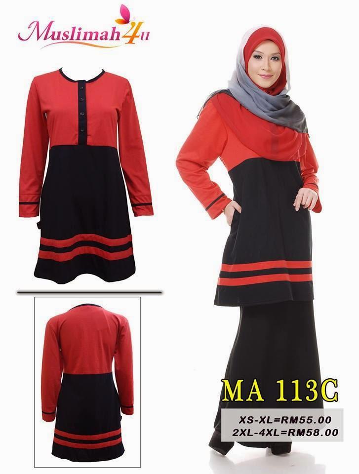 T-shirt-Muslimah4u-MA113C