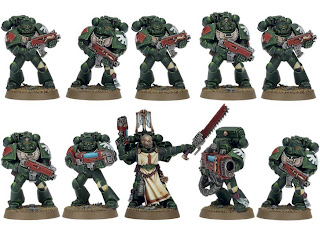 Warhammer 40k Dark Vengeance box set - Tactical Squad