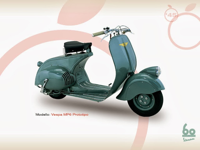 Vespa MP6 prototype