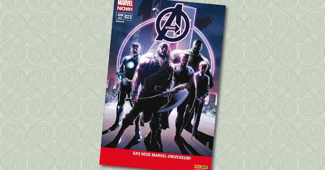 Avengers 23 Panini Cover