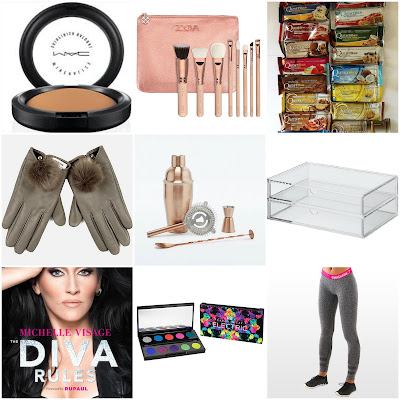 christmas wish list, Christmas gift ideas girl, Hannah rose, hanrosewilliams, beauty blogger, fashion blogger, fitness blogger, mac, zoeva, quest bars, river island, urban outfitters, muji, michelle visage, urban decay, gym shark,