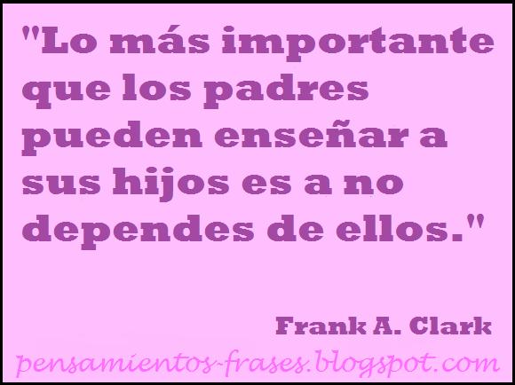 frases de Frank A. Clark