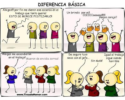 Diferencias ascenso en trabajo