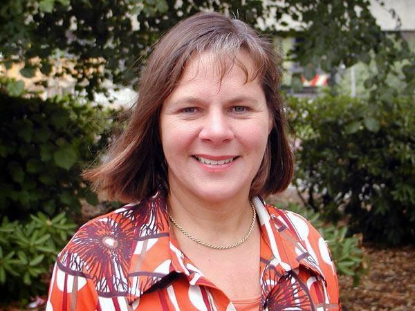 """Die Pressesprecherin der Stadt Ennepetal Frau Anke Velten-Franke berichtet in der Sendung """"Thema"""" über die Städtepartnerschaft mit Vilvoorde (B)"""