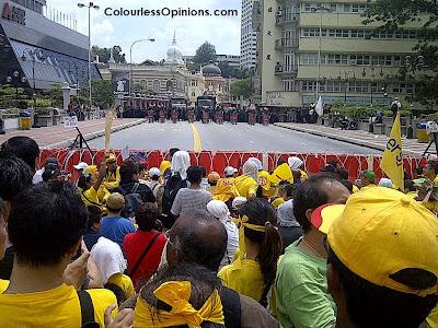 Bersih 3.0 Leboh Pasar Besar riot police force