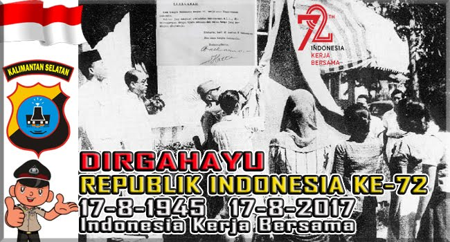 DIRGAHARU REPUBLIK INDONESIA KE-72