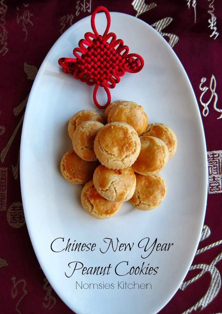Nomsies Kitchen: Traditional Chinese New Year Peanut Cookies