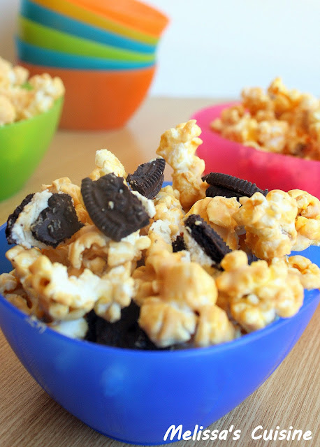 Melissa's Cuisine: Peanut Butter Oreo Popcorn