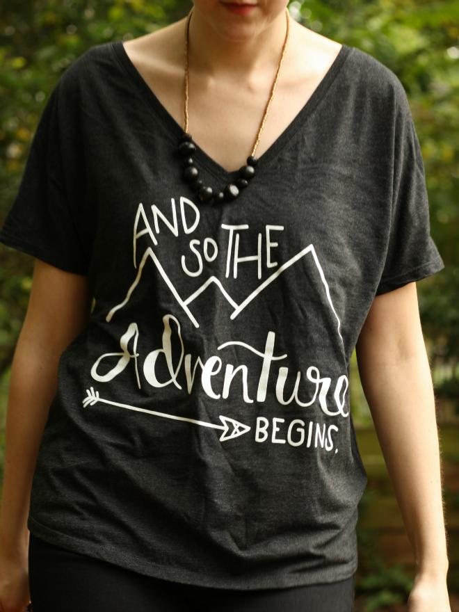 adventure tee