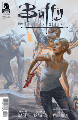 Cover of Buffy the Vampire Slayer Season Ten #21, courtesy of Dark Horse Comics