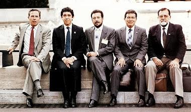 FMLN DE DERECHA LOS FALSOS REVOLUCIONARIOS LIDERES HISTORICOS