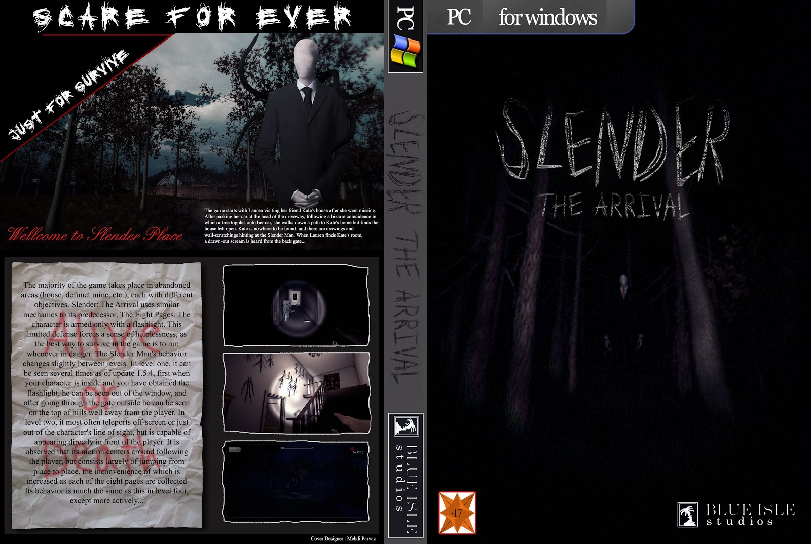 Capa Slender The Arrival PC