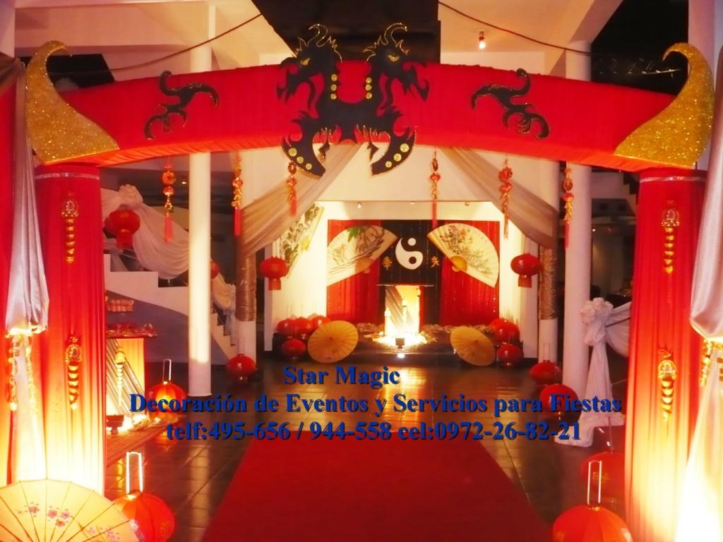 Decoracion Oriental Para Fiestas ~   MAGIC Decoracion de Fiestas y Eventos DECORACION TEMATICA ORIENTAL