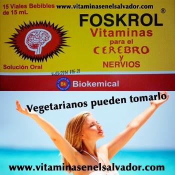 Vitaminas En El Salvador: FOSKROL VITAMINAS PARA EL